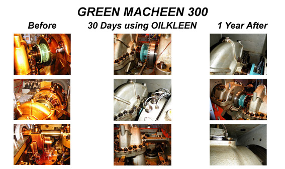 GREEN MACHEEN 300 Results