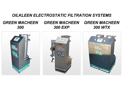 OILKLEEN ELECTROSTATIC FILTRATION SYSTEMS